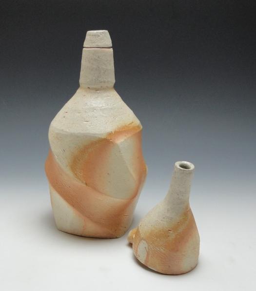Liquor Bottle with Funnel